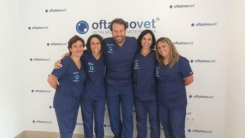 Equipo veterinario Oftalmovet Oftalmología Veterinaria